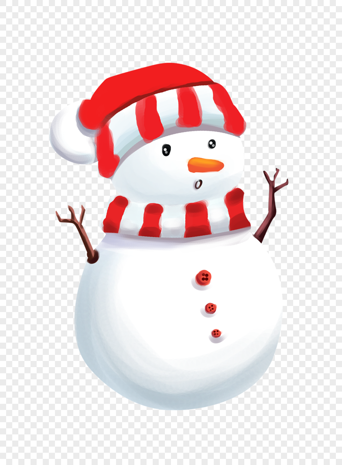 微信雪人头像可爱