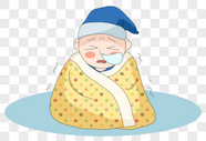 感冒儿童图片