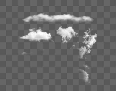 几朵表白云图片