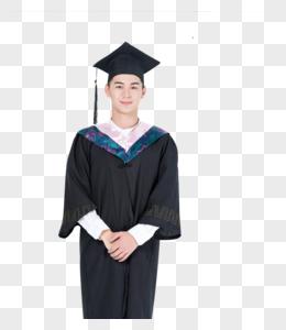毕业生 穿学士服毕业大学生图片