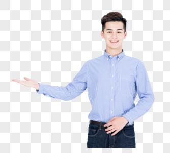 商务男性展示形象图片