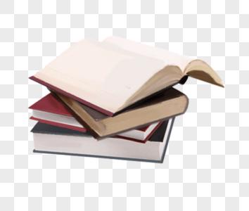一堆书图片