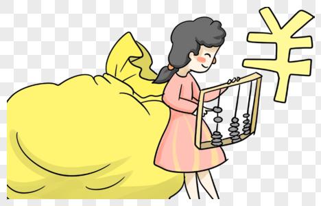 卡通人物女孩图片