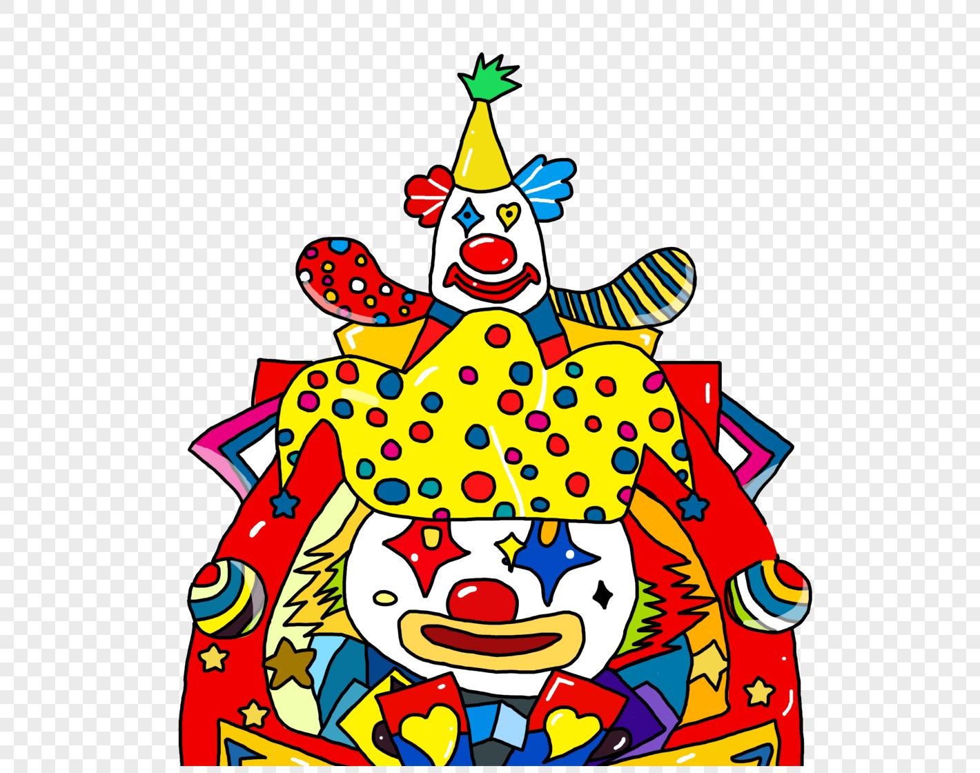 小丑饮料瓶手工制作