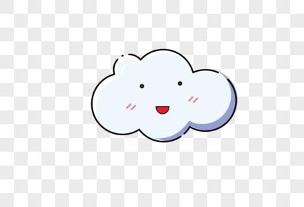 卡通白云图片