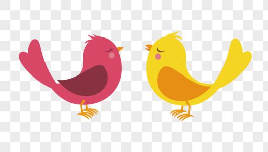 卡通鸟图片