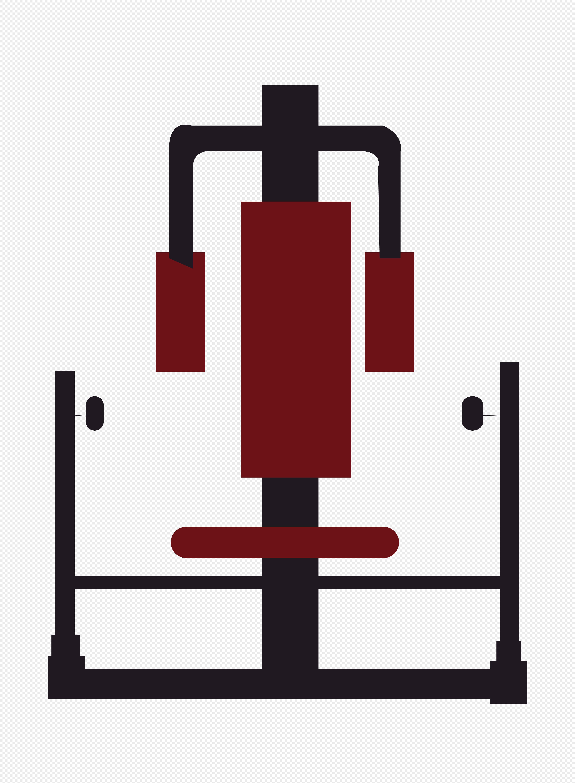 图片 素材 矢量元素 健身器材.
