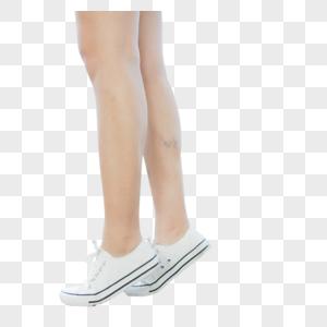 女生脚部脚尖特写图片