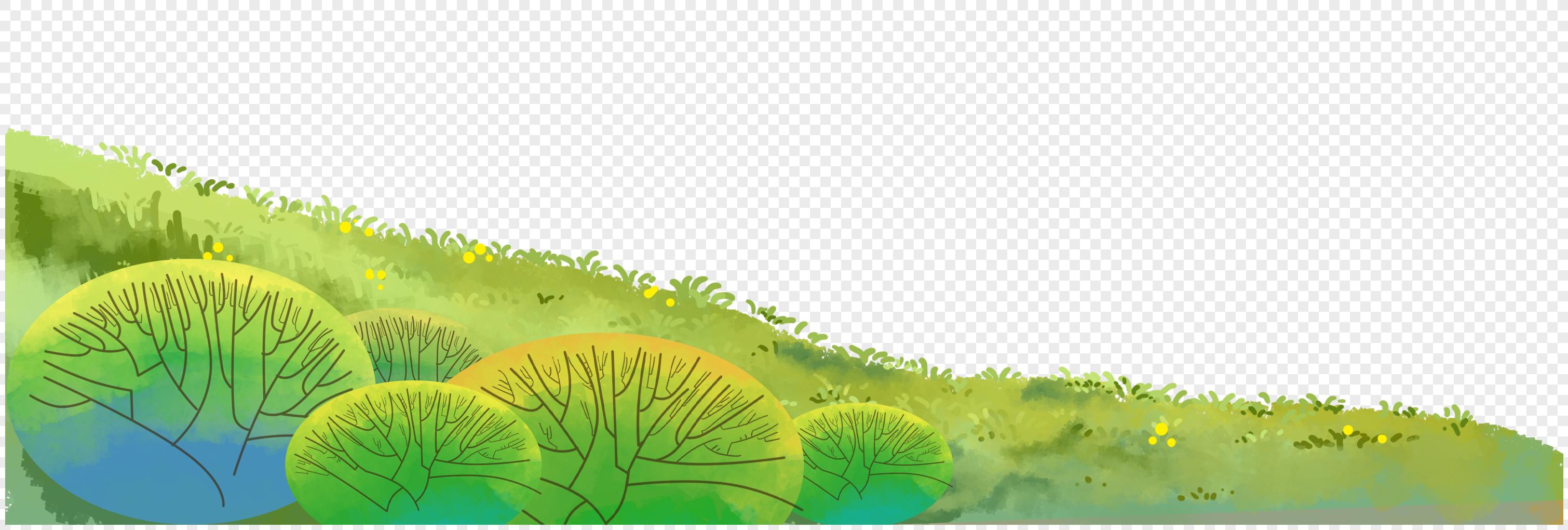 手绘草地图片素材_免费下载_图片格式_vrf高清图片_摄