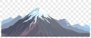 山峰矢量元素图片