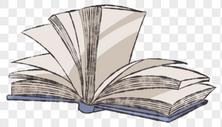 翻开的书图片