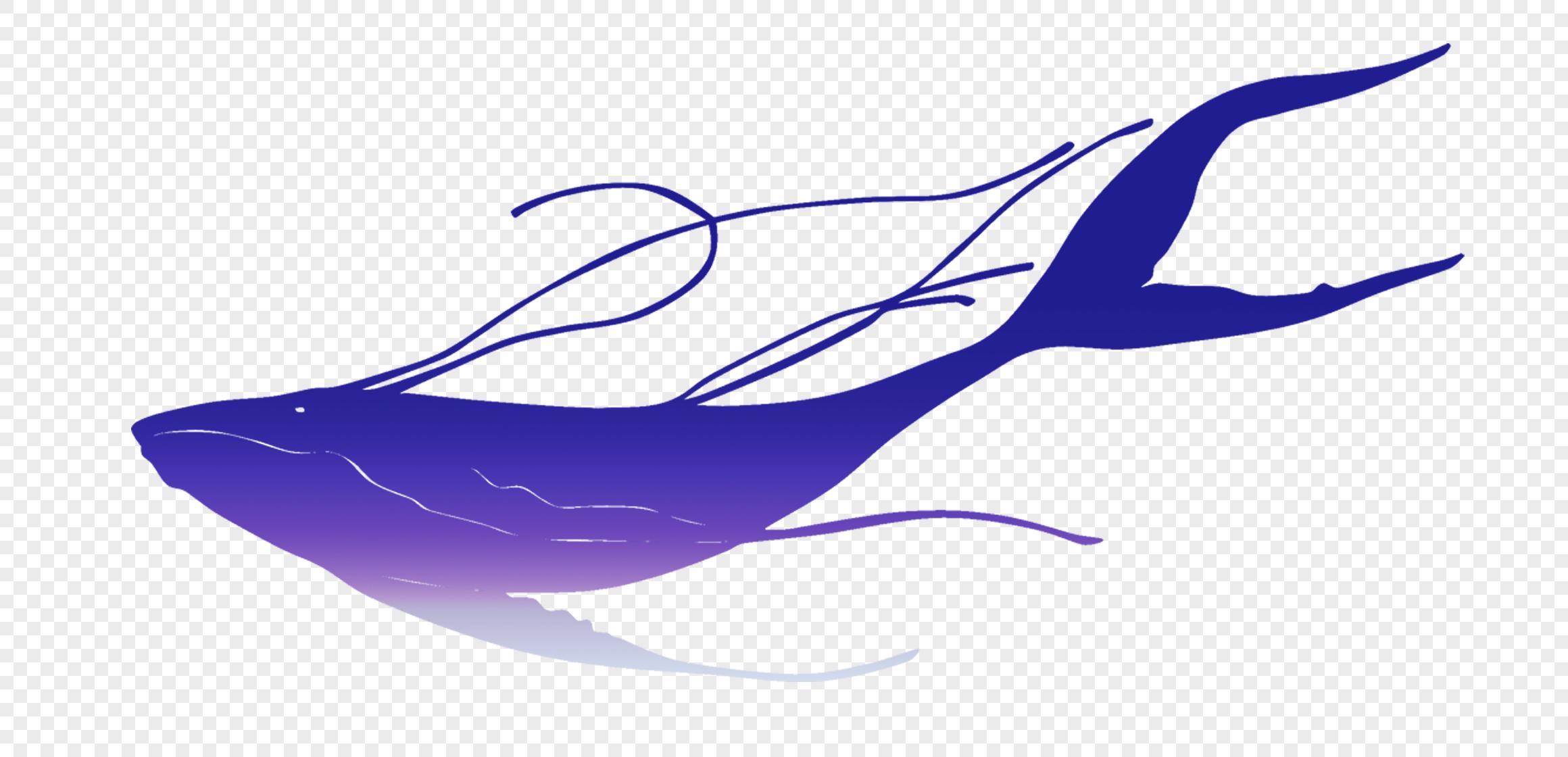图片 素材 手绘/卡通元素 鲸鱼.
