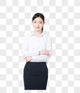 自信职场女性穿着职业正装图片图片