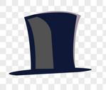 黑色帽子图片