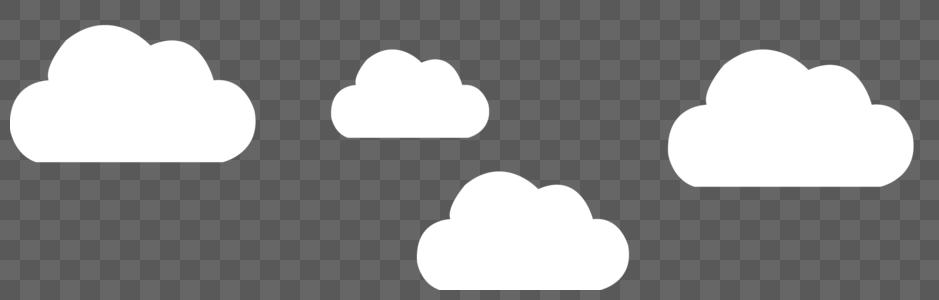 白云元素图片