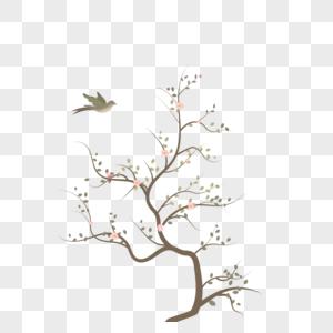 梅花树图片