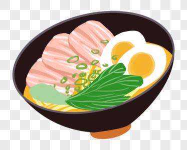 日式拉面图片