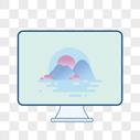台式电脑图片