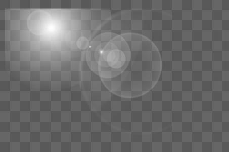 白色的光晕图片