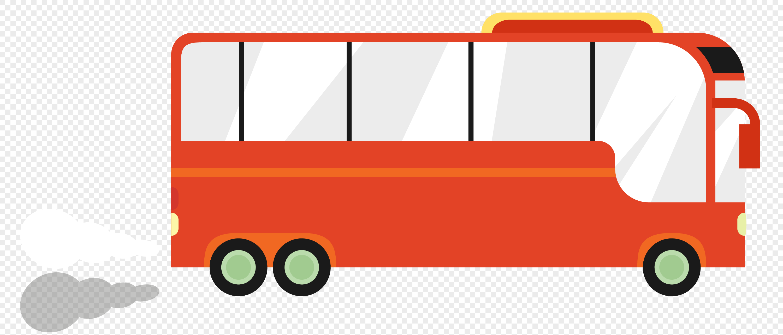 图片 素材 手绘/卡通元素 公交车.