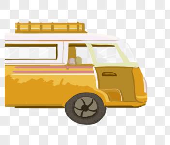 大巴车图片