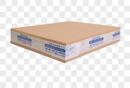 平放的快递包装箱元素图片