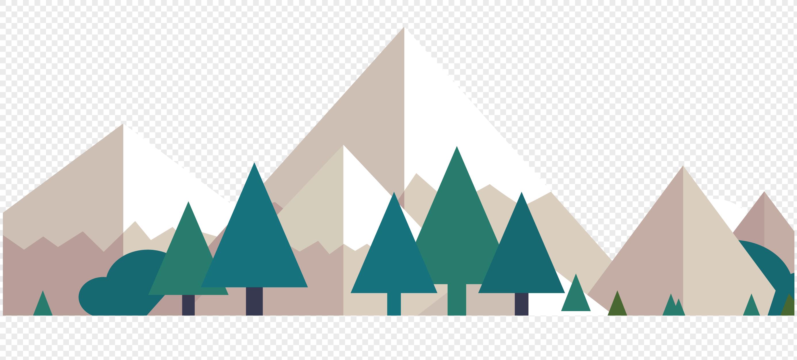 大山风景元素素材格式_设计素材免费下载_vrf高清图片