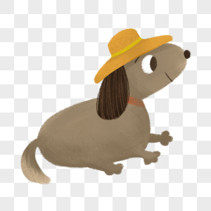 可爱卡通小狗图片
