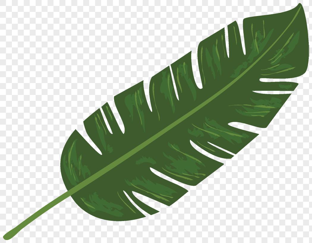 手绘叶子元素素材格式_设计素材免费下载_vrf高清图片