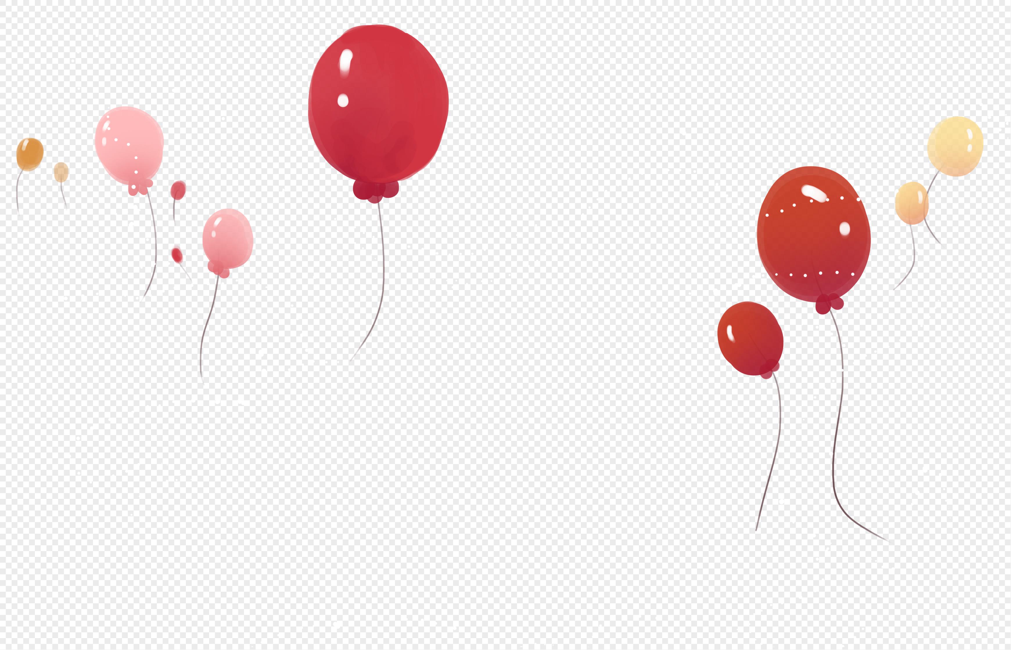 图片 素材 手绘/卡通元素 装饰气球.