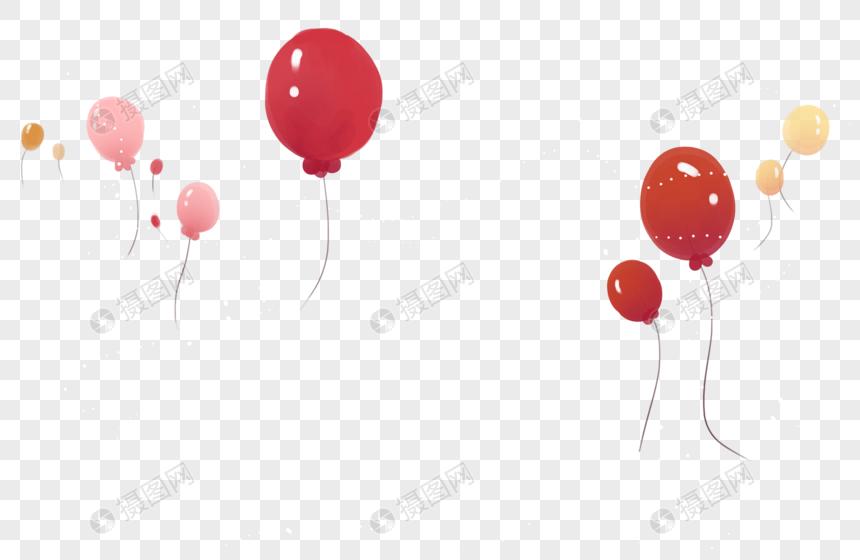 装饰气球图片