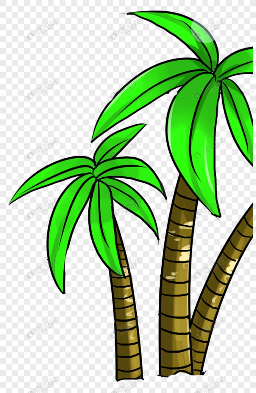 椰子树制度薪酬PNG素材_设计素材免费商业地产元素公司格式v制度图片