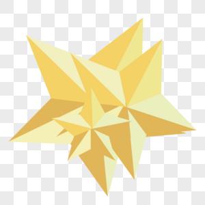 立体五角星高清图片