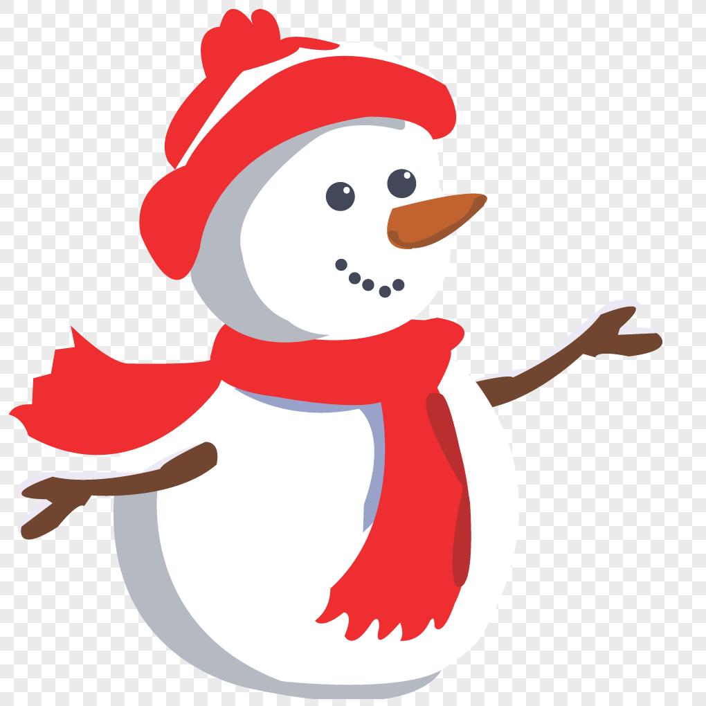 可爱雪人微信头像