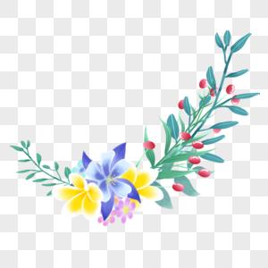 漂亮的花枝图片