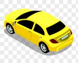 黄色的汽车图片