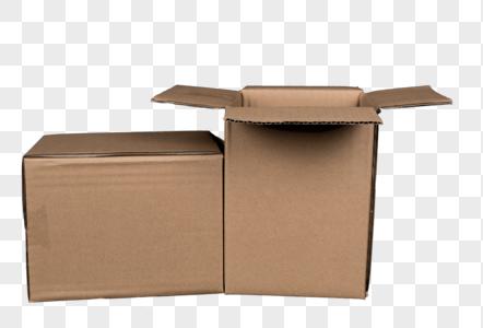 纸质快递包装箱免抠图元素图片