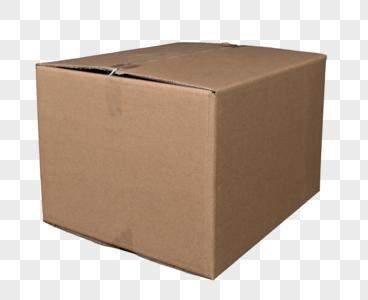 纸质货物包装箱免抠图元素图片