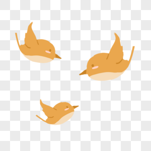 三只小鸟图片