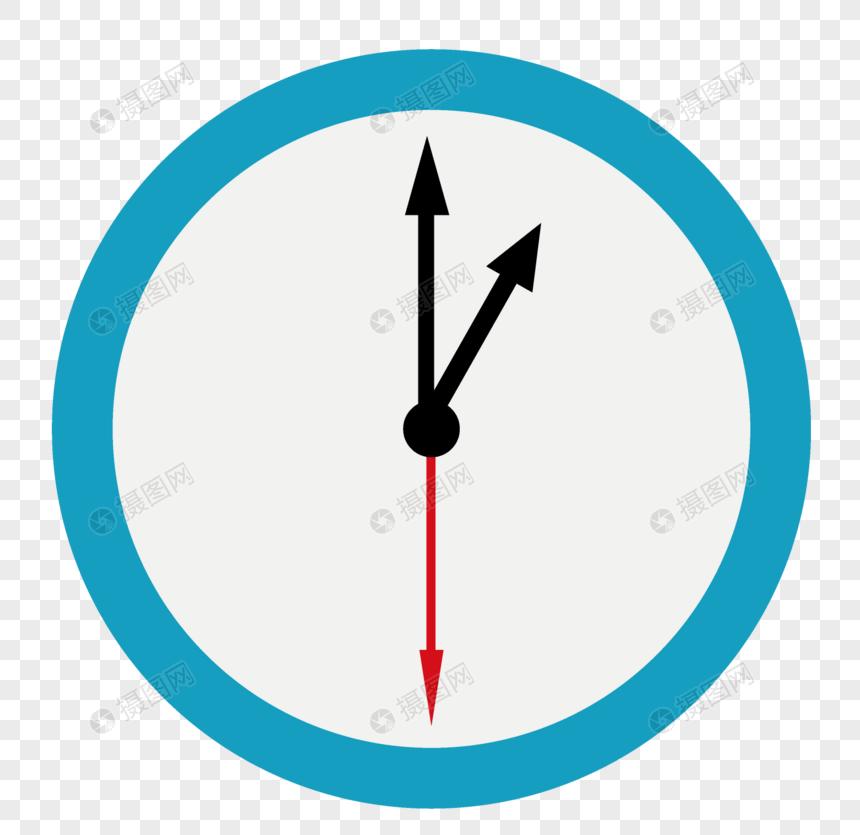 可定时简易钟表电路图