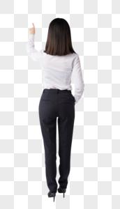 商务女性职场白领背影图片图片