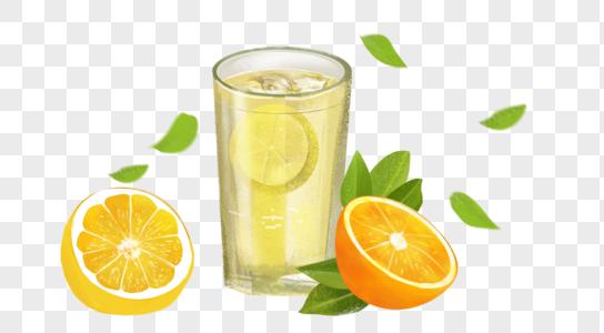 夏日清新果汁图片
