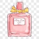 手绘香水图片