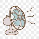 小清新电风扇图片