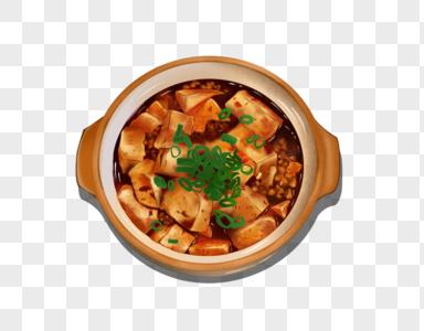 香辣美味下饭麻婆豆腐图片