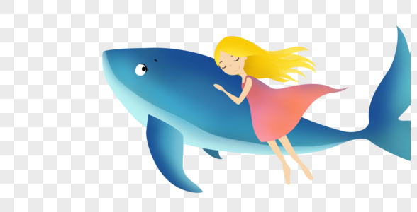 鲸鱼少女图片