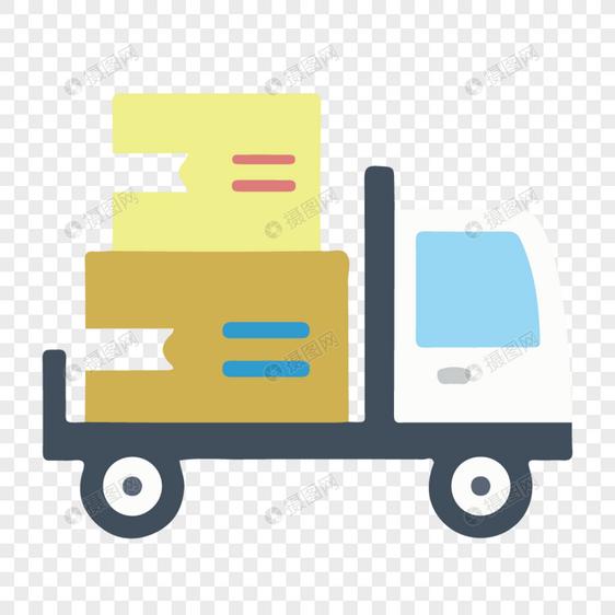 运送货物的卡车图片