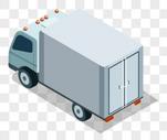 白色的货车图片
