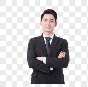 自信的商务男性形象图片图片