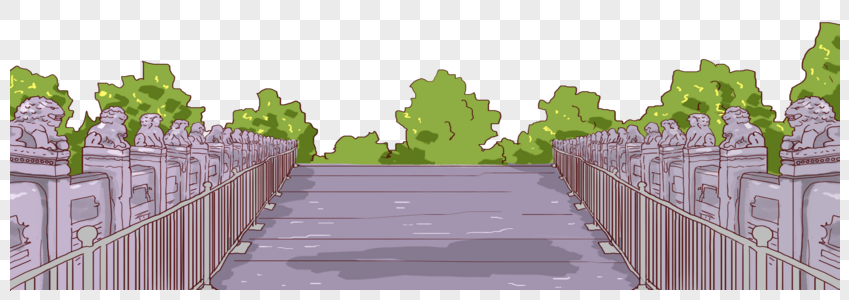 狮子桥图片